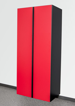 Race Day Red/Black Cabinet