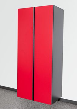 Race Day Red/Slate Cabinet